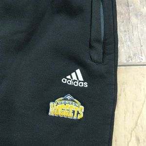 adidas Pants - Denver Nuggets player warm up pants by Adidas